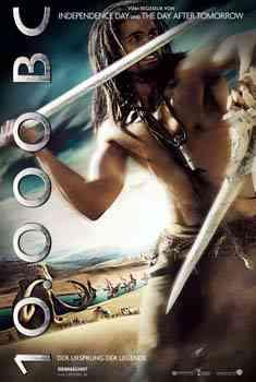 10.000BC DVD Español Latino