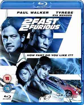 """2 Fast 2 Furious 2003 Blu-Ray"""