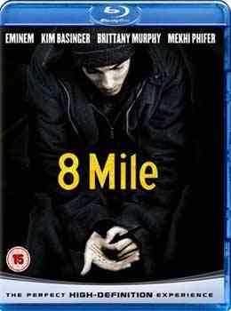 """8 Mile Blu-Ray"""
