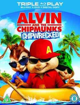"""""""Alvin y las ardillas 3 Blu-Ray"""""""