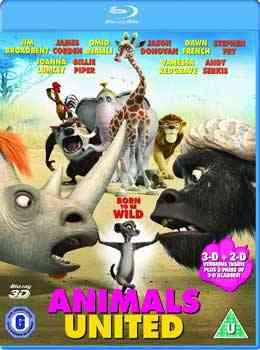 """Animals United 2010 blu Ray"""