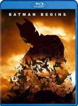 """""""Batman Begins 2005 Blu Ray"""""""