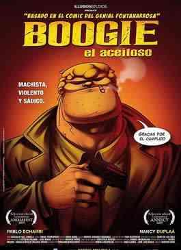 Boogie, el aceitoso Cover