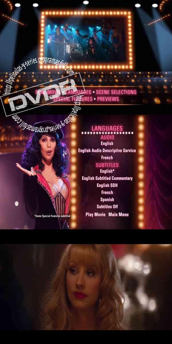 """""""Burlesque DVD"""""""