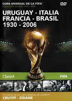 Copa Mundial de la FIFA - Colección de DVD 1930 - 2006 Cover