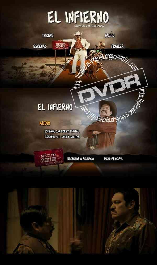 """El Infierno DVD Latino"""