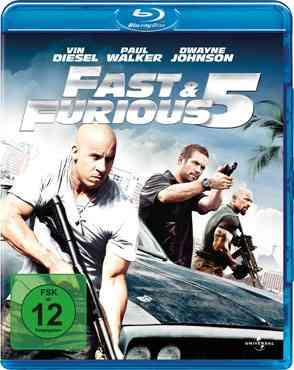 """Fast Five 2011 Blu-Ray"""