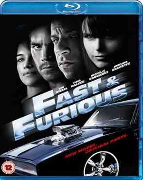 """Fast & Furious 2009 Blu-Ray"""