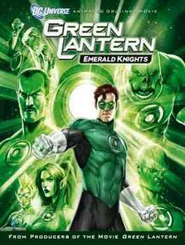 """Green Lanter Emerald Kinght poster"""