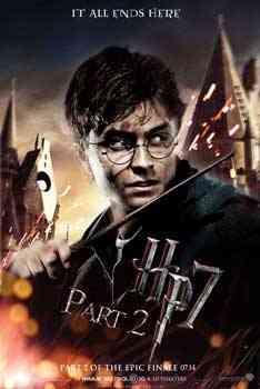 """Harry Potter 7 part 2 dvd"""