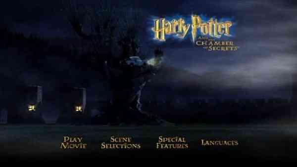 Harry Potter y la Cámara de los Secretos dvd