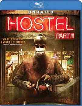 """""""Hostel Part III Blu-Ray"""""""