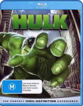 """Hulk 2003 Blu-Ray"""