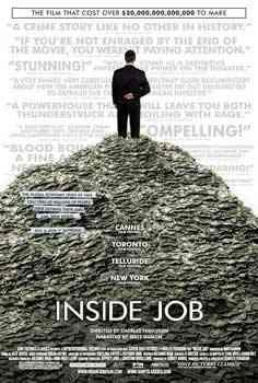 """""""Inside Job 2010 poster"""""""