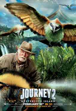 """Journey 2 The Mysterious Island 2012 poster"""