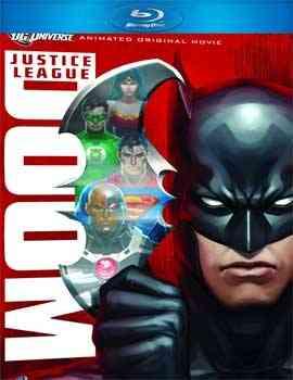"""Justice League Doom Blu-Ray"""