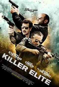 """""""Killer Elite 2011 poster"""""""