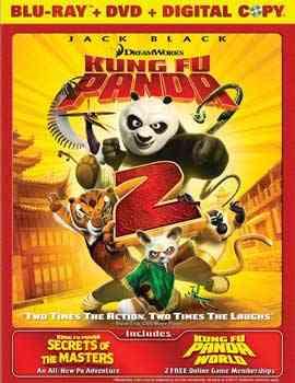 """Kung Fu Panda 2 2011 Blu-Ray"""