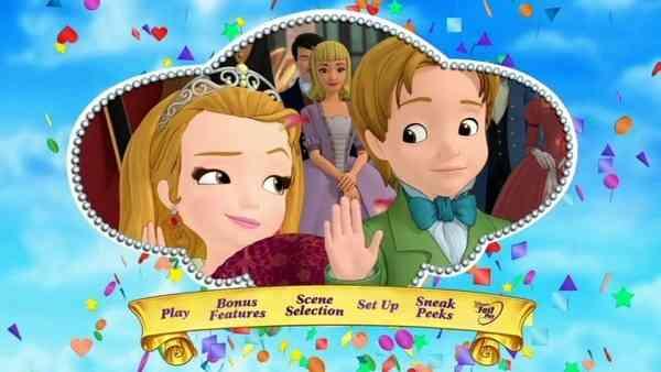 La Princesa Sofia DVD español