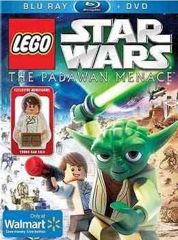 """""""Lego Star Wars The Padawan Menace poster"""""""