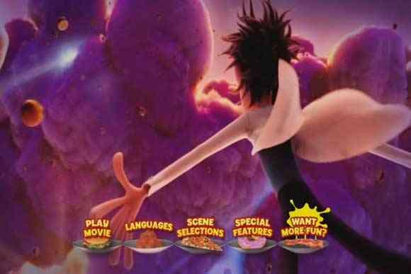 Lluvia de hamburguesas dvd