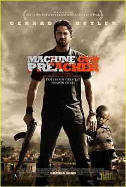 """Machine Gun Preacher poster"""