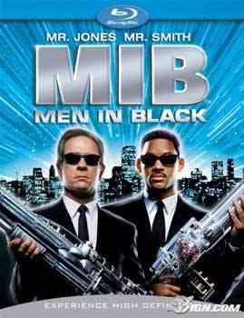 """""""Men in Black BluRay"""""""