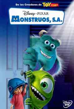 Monstruos Inc cover