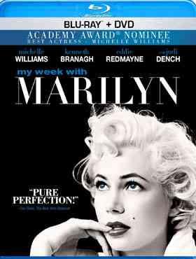 """""""My Week With Marilyn Blu-Ray"""""""