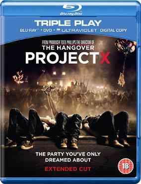 """Project X 2012 Blu-Ray"""