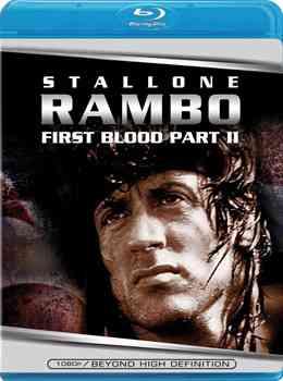 """""""Rambo First Blood Part II Blu Ray"""""""