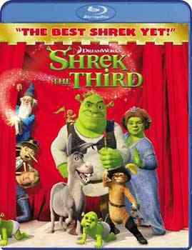 """""""Shrek The Third BluRay"""""""