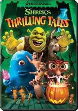 """Shreks Thrilling Tales poster"""