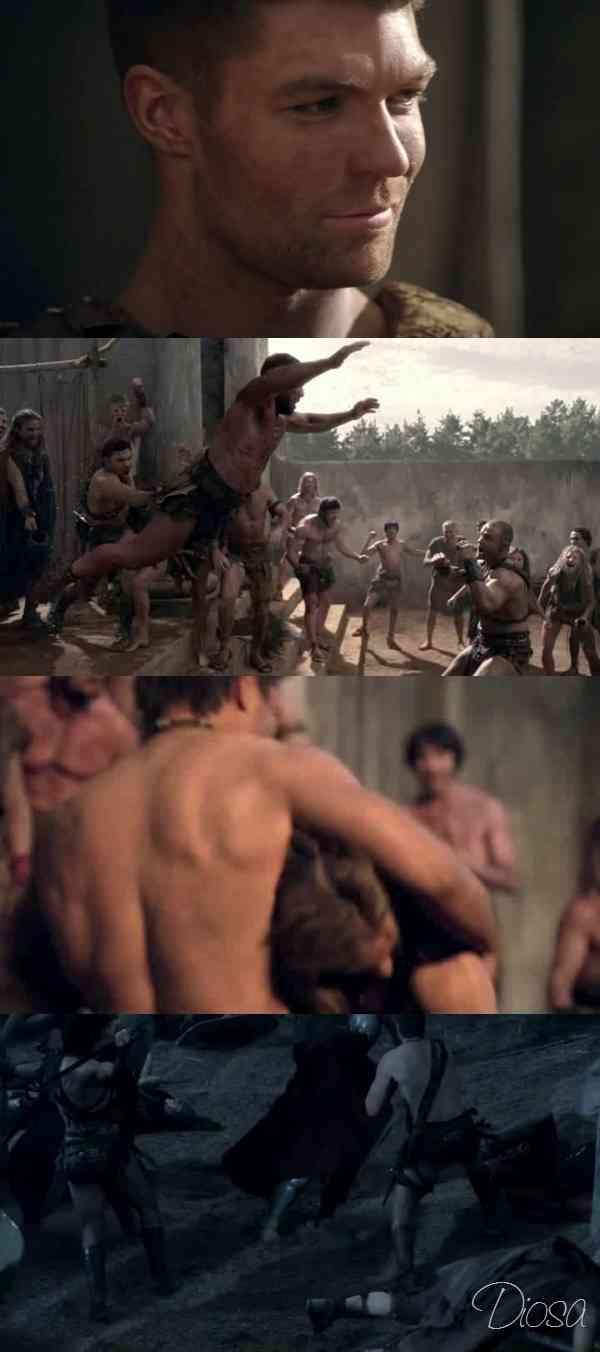 """Spartacus Vengeance Capitulo 9 latino"""