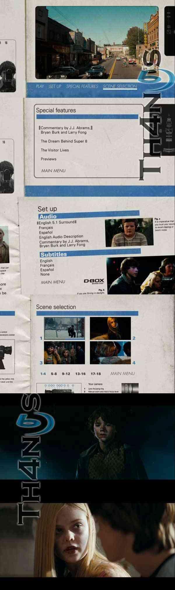 """Super 8 DVD Latino"""