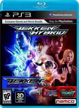 Tekken Blood Vengeance 3D Cover