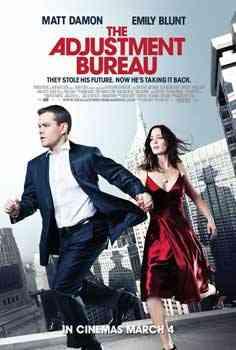"""The Adjustment Bureau poster"""
