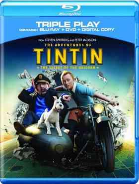 """The Adventures of Tintin Blu-Ray"""
