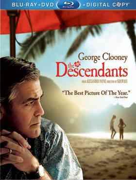 """The Descendants 2011 Blu-Ray"""