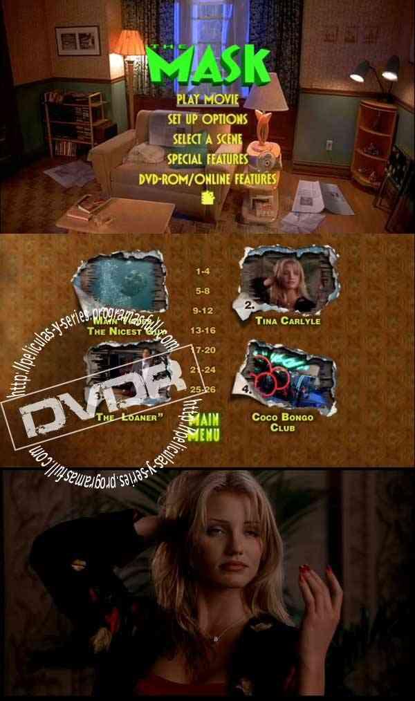 """The Mask DVD Latino"""