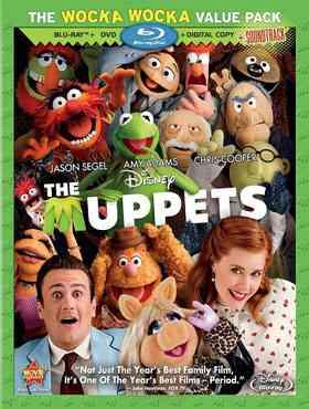 """The Muppets 2011 Blu-Ray"""