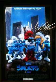 """The Smurfs 2011 cover"""