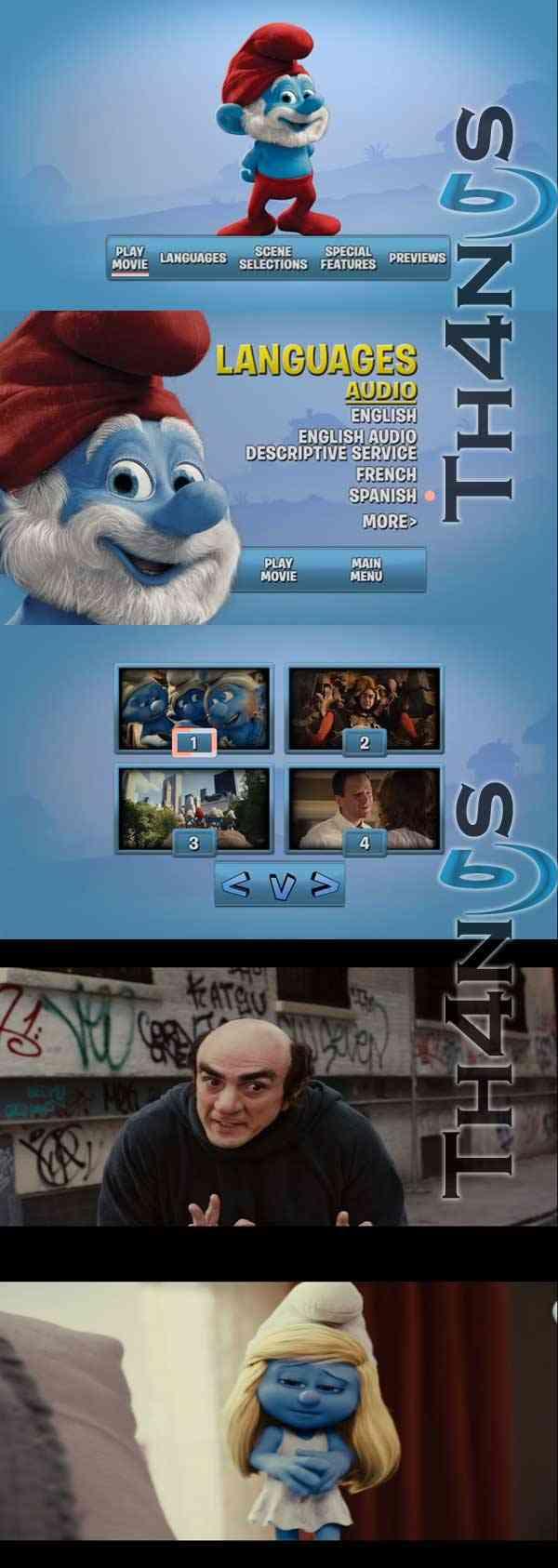 """The Smurfs DVD Remasterizado"""