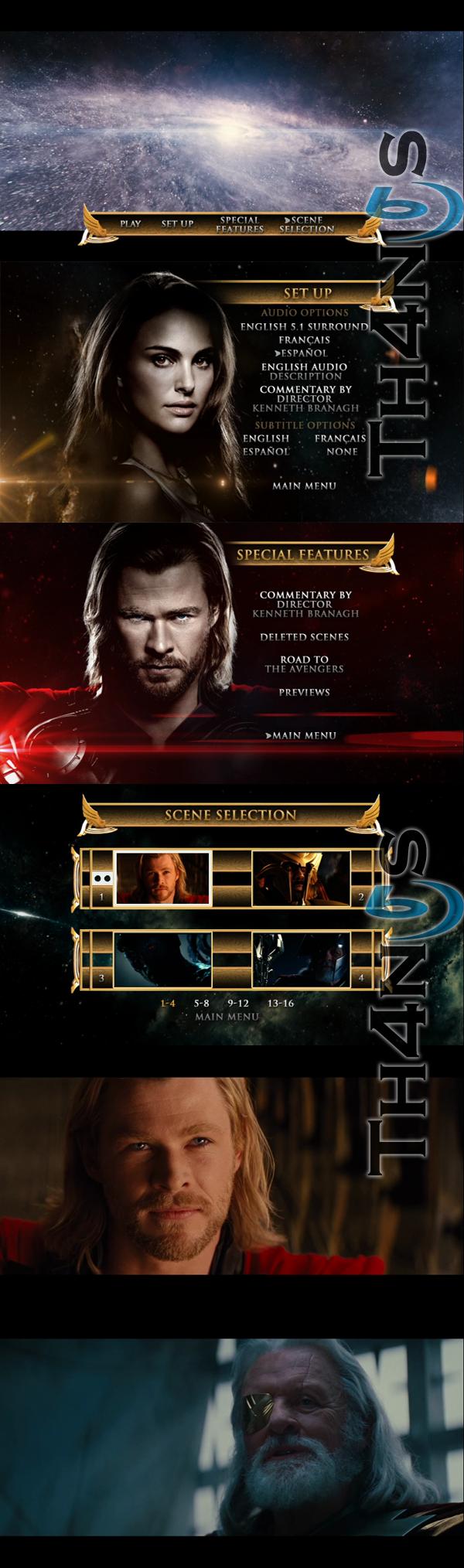 """""""Thor 2011 DVD Latino"""""""