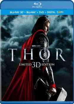 """Thor 3D 2011 Blu Ray"""