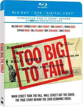 """Too Big to Fail 2011 Blu-Ray"""