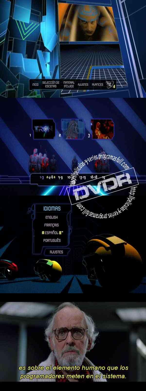 """""""Tron Edicion Especial DVD Latino"""""""