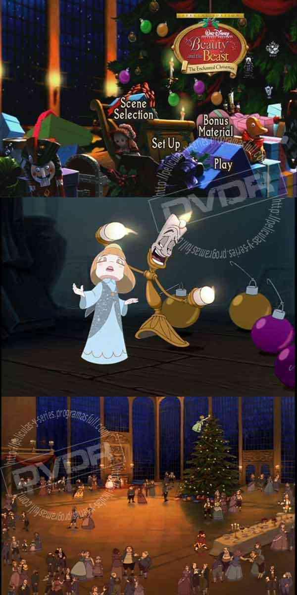 descargar dvd La Bella y la Bestia 2 Una Navidad Encantada