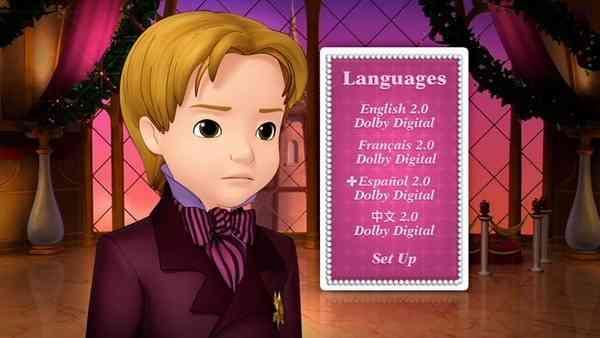 dvd La Princesa Sofia