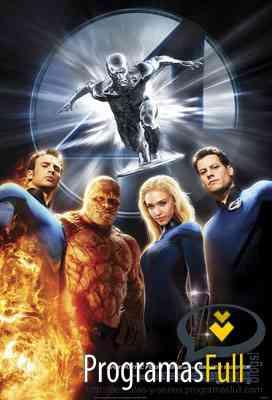 Los 4 Fantasticos-Alta Definicion HD Los-4-fantasticos-y-silver-surfer-cover